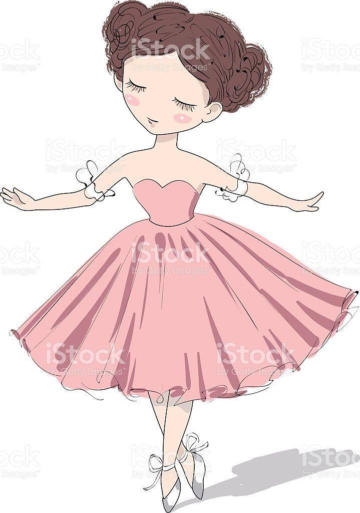 Балерина рисунок для детей (5)