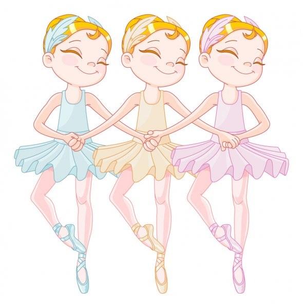 Балерина рисунок для детей (9)