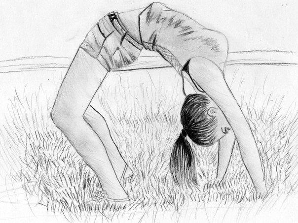 Балерины удивительные картинки для срисовки (10)