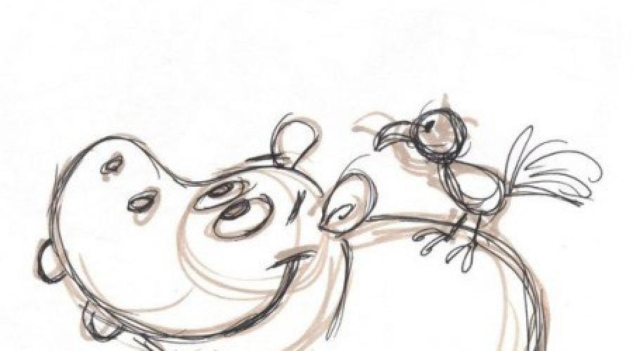 Балерины удивительные картинки для срисовки (24)
