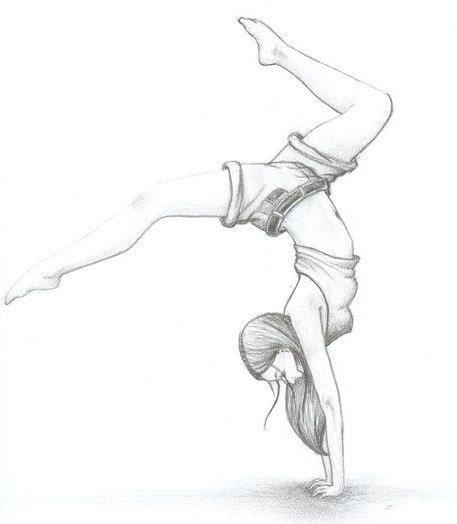 Балерины удивительные картинки для срисовки (6)