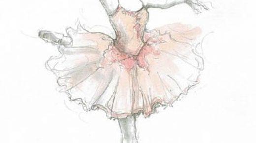 Балерины удивительные картинки для срисовки (9)