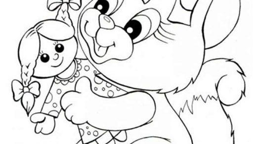 Белка раскраска картинки для детей (5)
