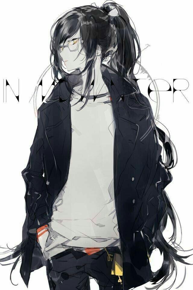 Девушка с парнем аниме арт (11)