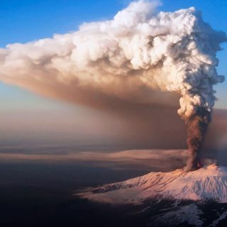 Действующие вулканы Европы