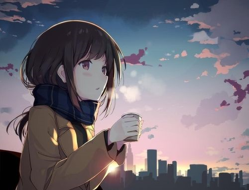 Доброе утро картинки аниме (12)