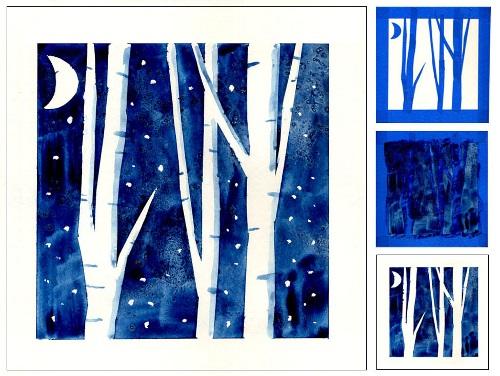 Зима класс 3 рисунки подборка (13)