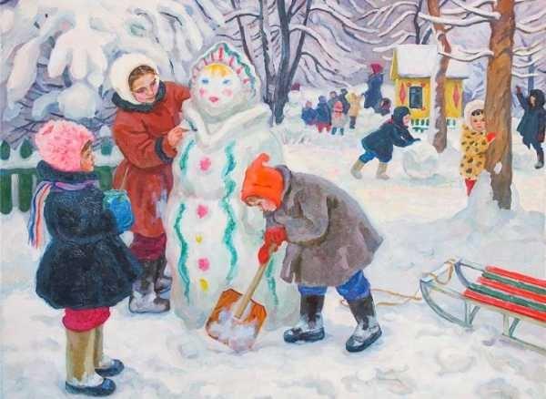 Зима класс 3 рисунки подборка (17)