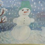 Зима класс 3 рисунки подборка
