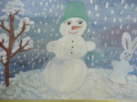Зима класс 3 рисунки подборка (20)