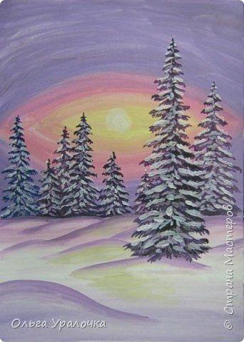 Зима класс 3 рисунки подборка (21)
