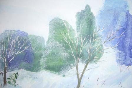 Зима класс 3 рисунки подборка (4)