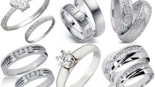 Как определить разницу между серебром, белым золотом и платиной