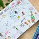 Как оформить красиво ежедневник — фото