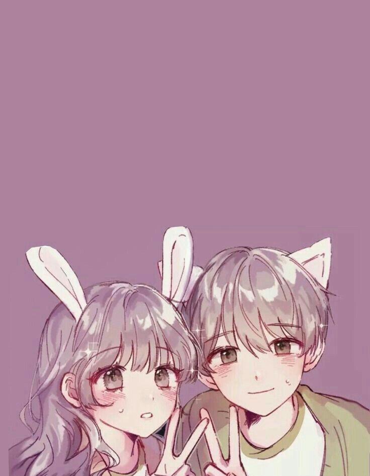 Картинки аниме на аву влюбленные (12)