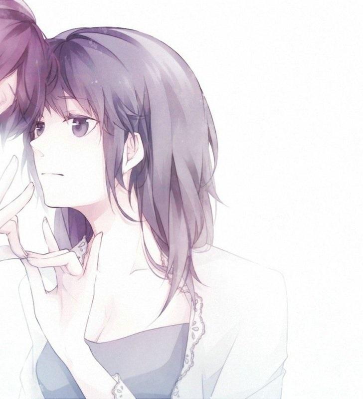 Картинки аниме на аву влюбленные (13)