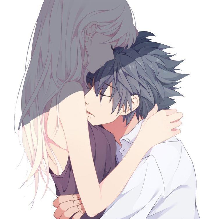 Картинки аниме на аву влюбленные (15)