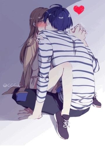 Картинки аниме на аву влюбленные (24)