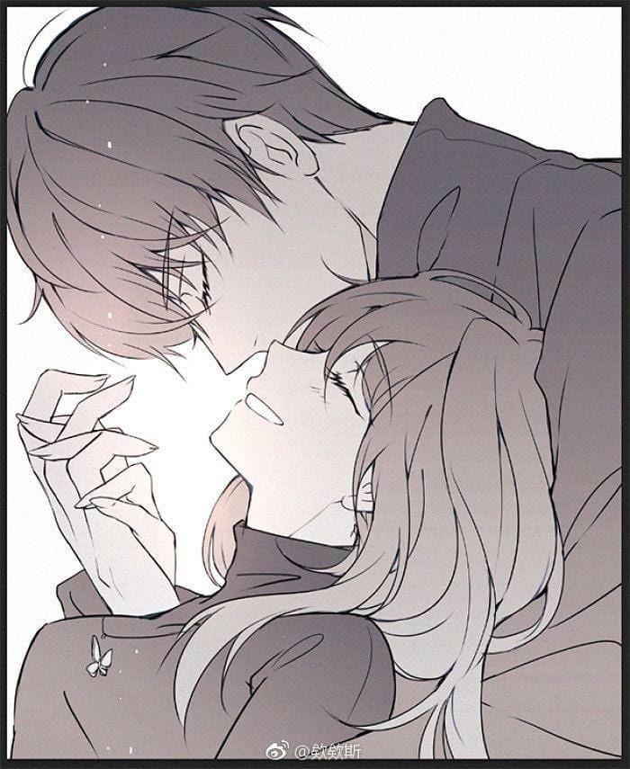 Картинки аниме на аву влюбленные (29)
