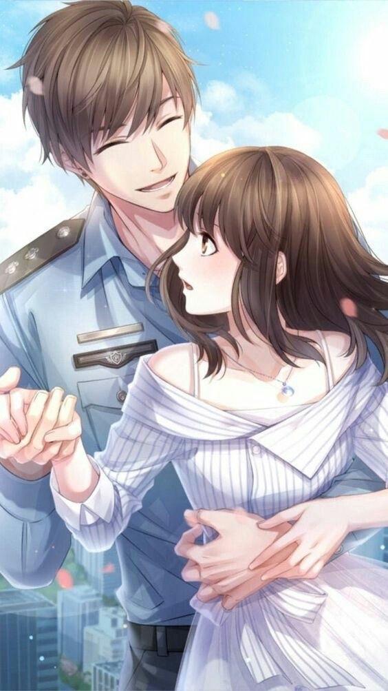 Картинки аниме на аву влюбленные (3)
