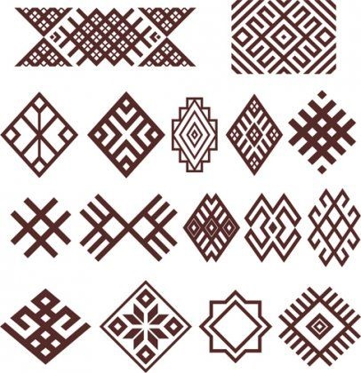 Картинки башкирские узоры и орнаменты (3)