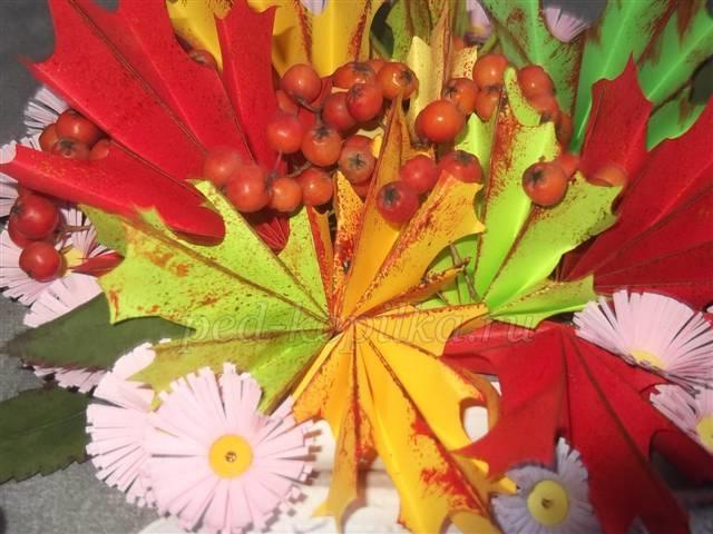 Картинки букет осенних листьев (11)