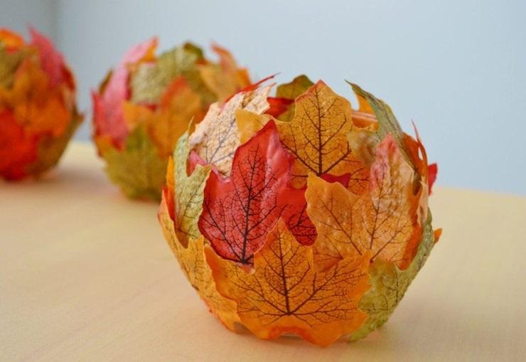 Картинки букет осенних листьев (14)