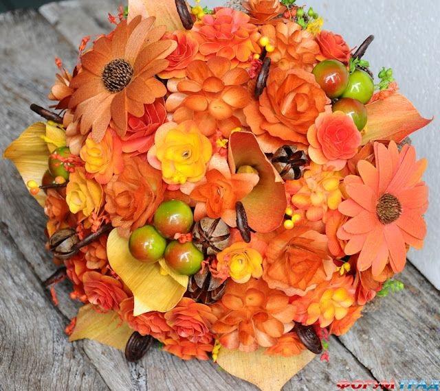 Картинки букет осенних листьев (27)