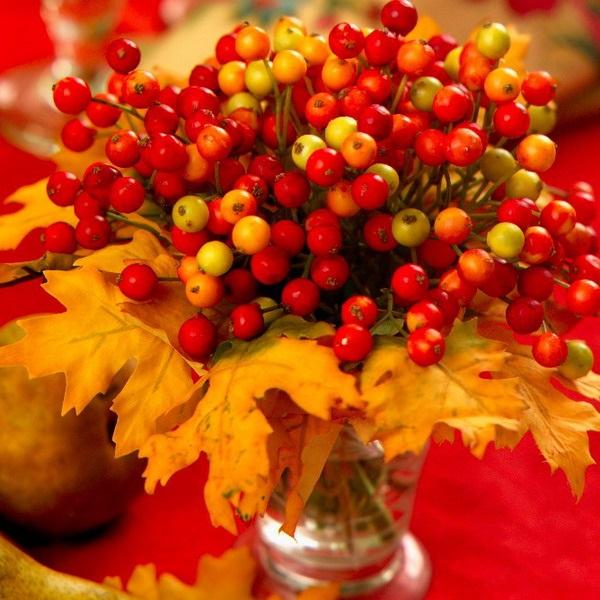 Картинки букет осенних листьев (5)