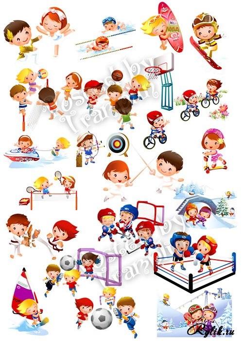 Картинки видов спорта для детей (19)