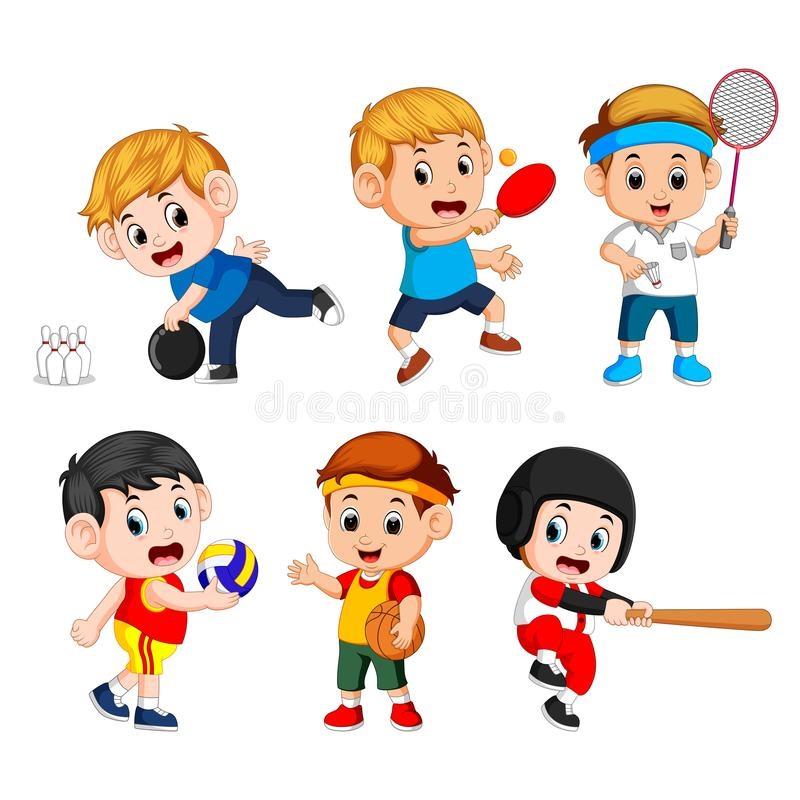 Картинки видов спорта для детей (21)