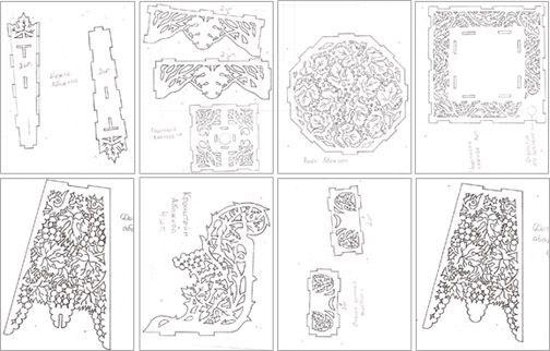 Картинки для вырезания лобзиком по фанере (21)