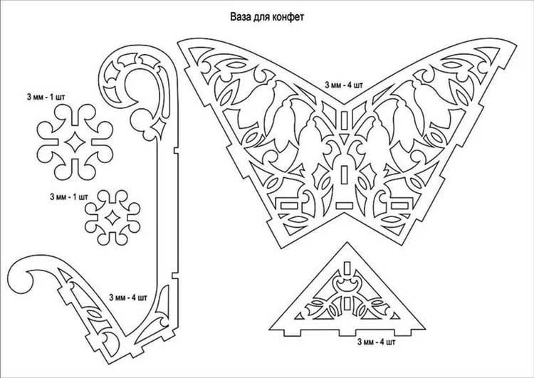 Картинки для вырезания лобзиком по фанере (9)