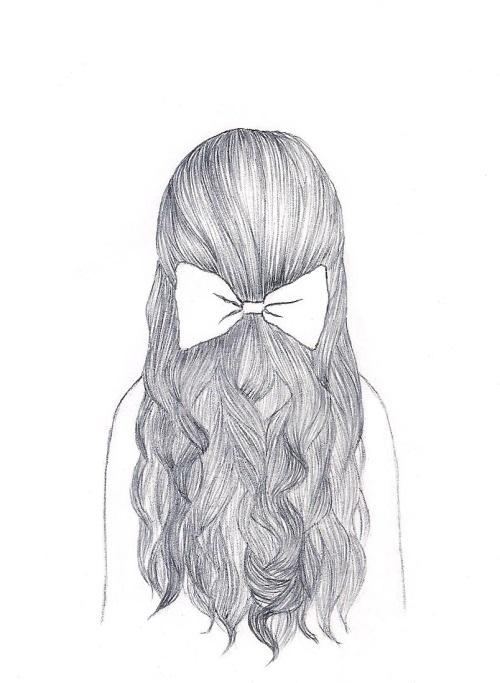 Картинки для срисовки девушки легкие (22)