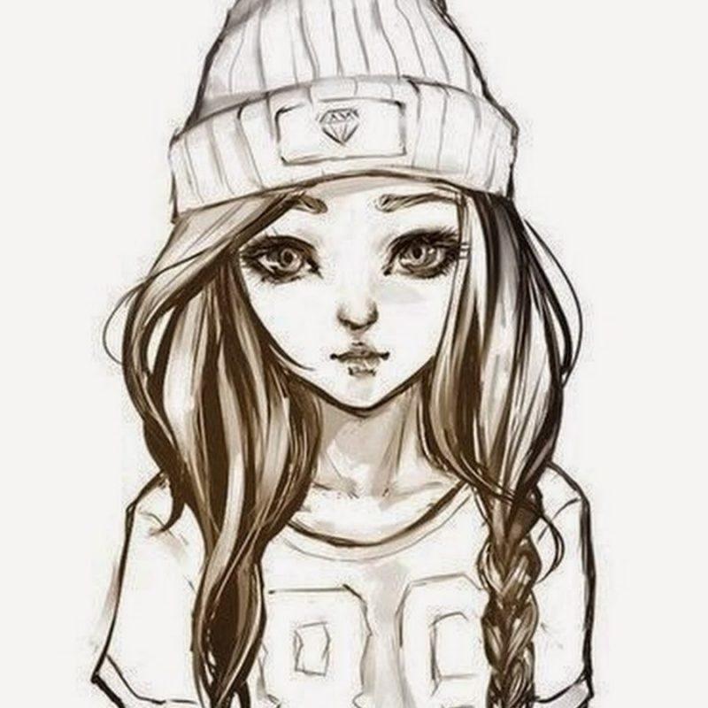 Картинки для срисовки для девочек легкие (14)