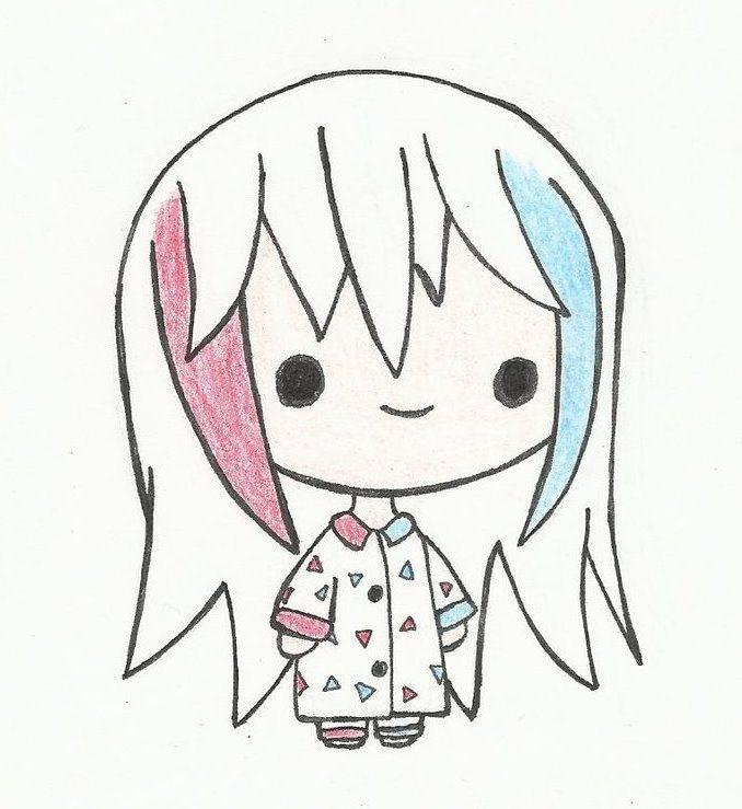 Картинки для срисовки для девочек легкие (15)