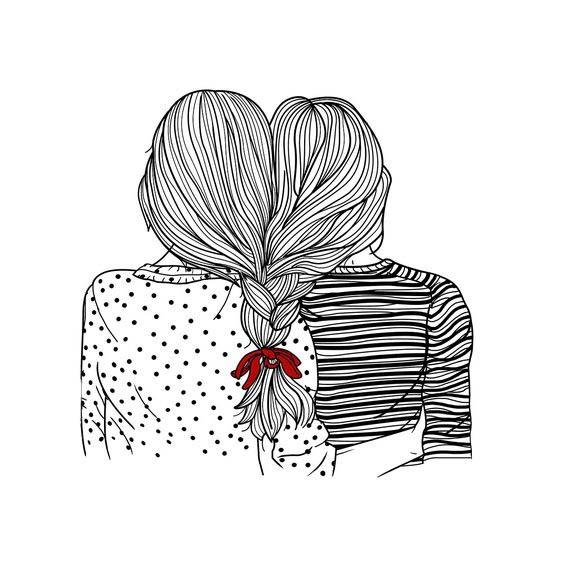 Картинки для срисовки для девочек легкие (19)