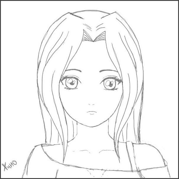 Картинки для срисовки для девочек легкие (21)