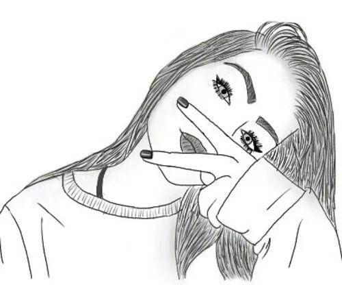 Картинки для срисовки 12 лет для девочек (11)