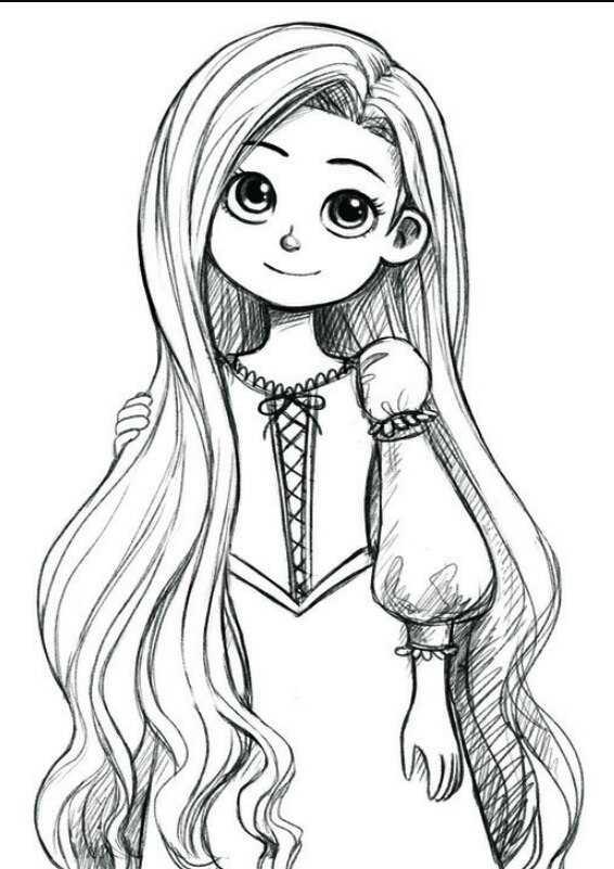 Картинки для срисовки 12 лет для девочек (22)