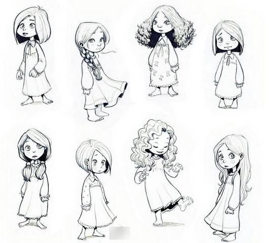 Картинки для срисовки 12 лет для девочек (28)
