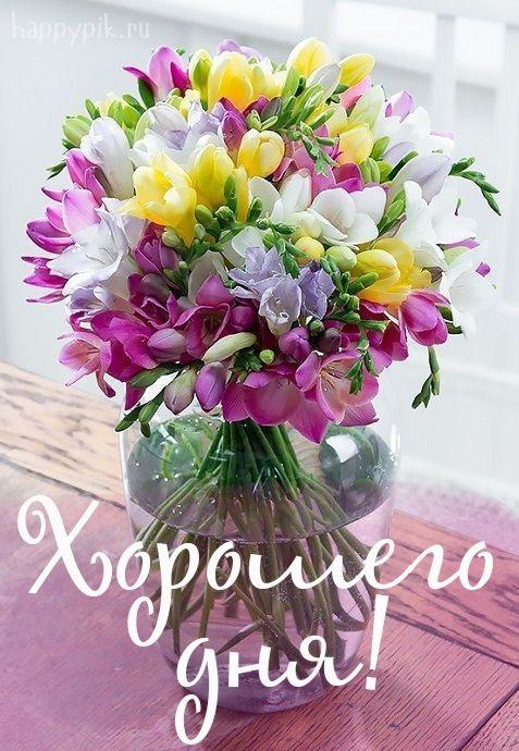 Картинки доброе утро и цветы (7)