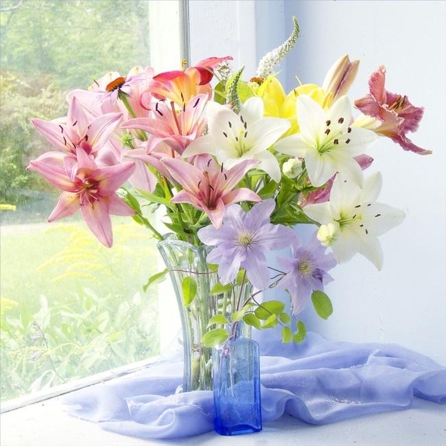 Картинки доброе утро лилии (9)
