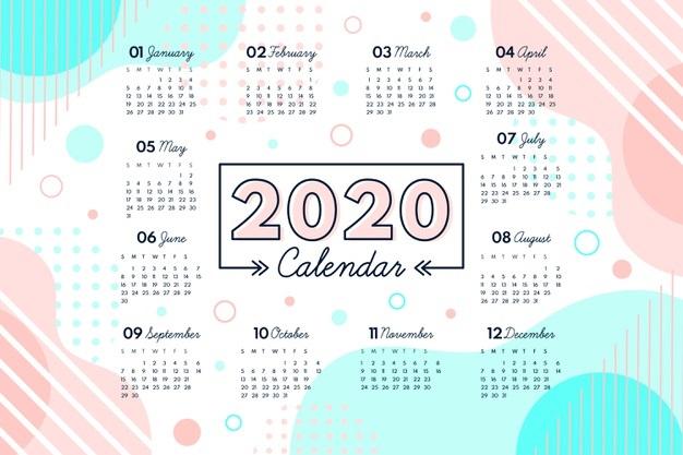 Картинки календарь тумблер 2020 (16)