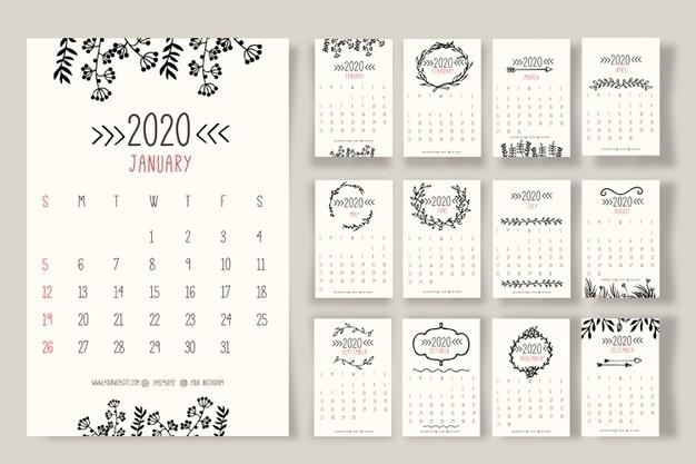 Картинки календарь тумблер 2020 (18)
