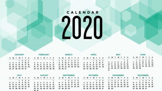 Картинки календарь тумблер 2020 (19)