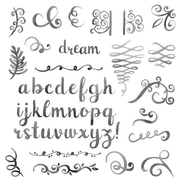 Картинки каллиграфия на английском (13)