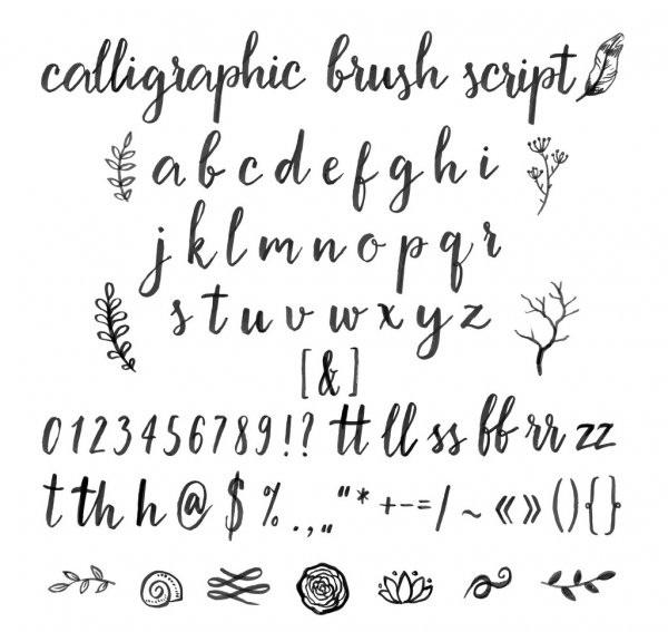 Картинки каллиграфия на английском (14)