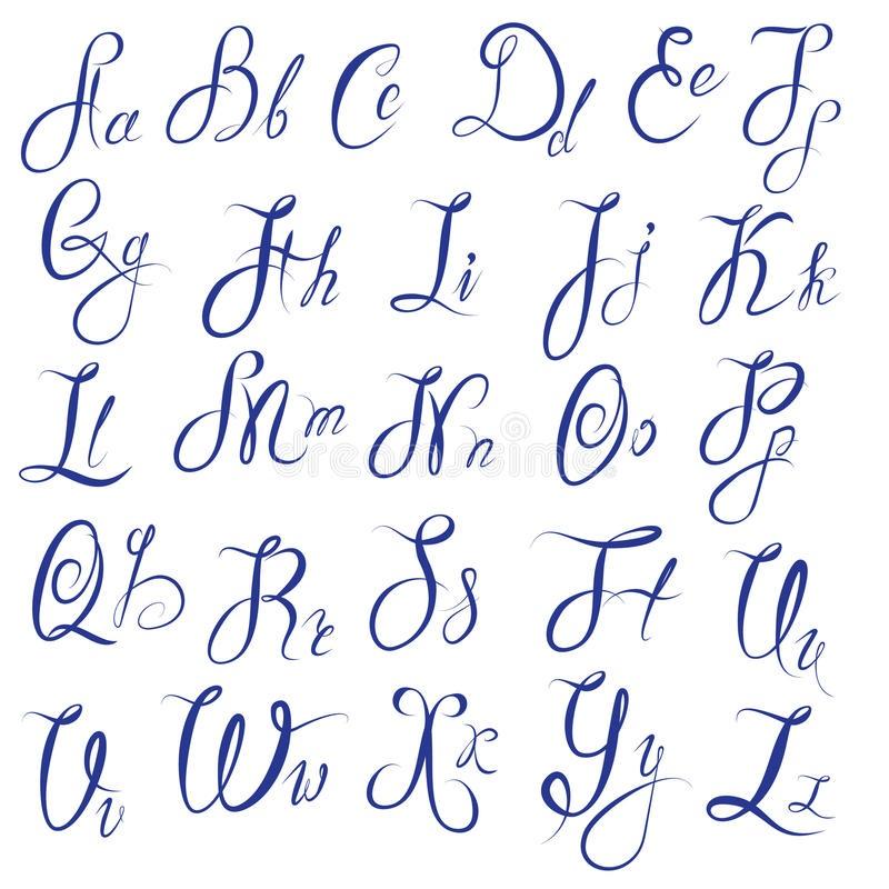 Картинки каллиграфия на английском (23)
