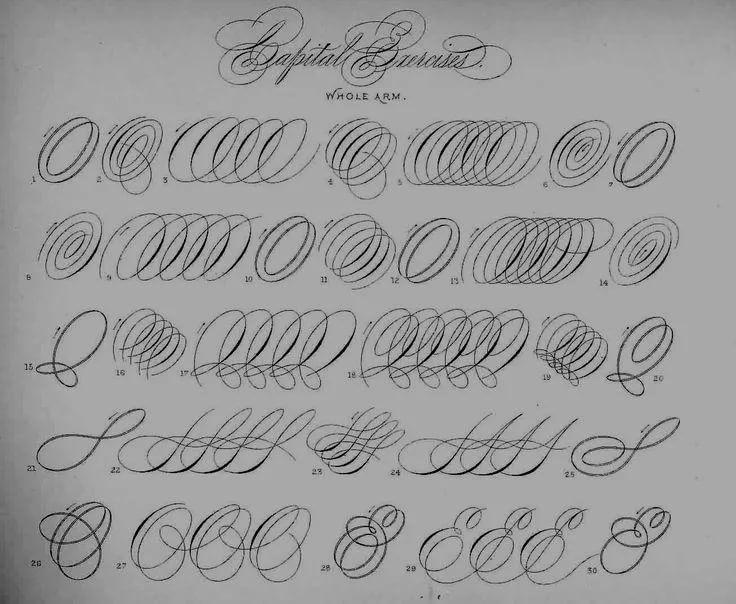 Картинки каллиграфия на английском (5)